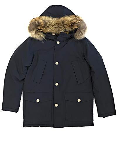 Dark Detachable Bambino Woolrich Parka Giubbotto Inverno Wkcps2028 Navy Blu wxFI7I