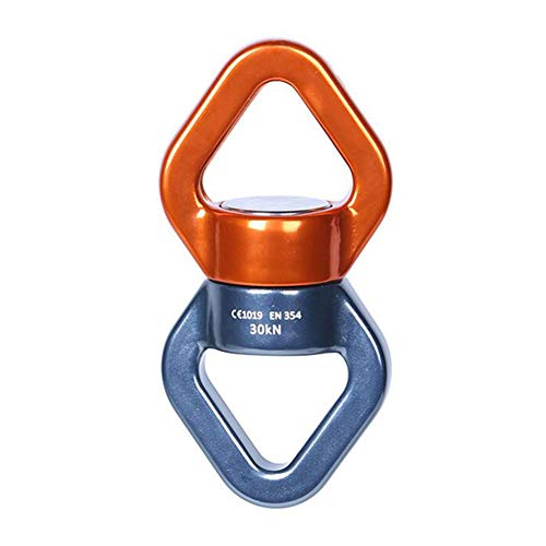 LAIABOR Hauling Pulley Climbing Pulley Rope Slackline Aerial Rescue Protection Rock Mountaineering Alloy Fixed Rope 30KN