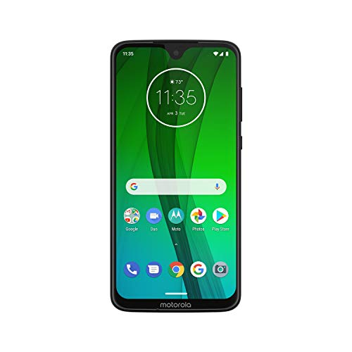 Moto G7 - Unlocked - 64 GB - Ceramic Black (US Warranty) - Verizon, AT&T, T-Mobile, Sprint, Boost, Cricket, Metro