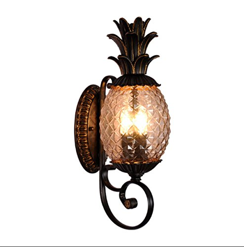Pineapple Outdoor Light Sconces - 4