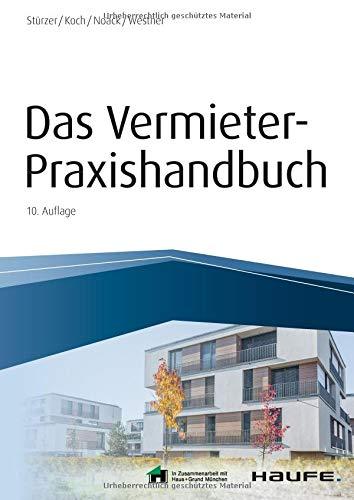 Das Vermieter Praxishandbuch   Inkl. Arbeitshilfen Online  Haufe Fachbuch