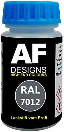 Alex Flittner Designs Lackstift Ral 7012 Basaltgrau Matt 50ml Schnelltrocknend Acryl Auto