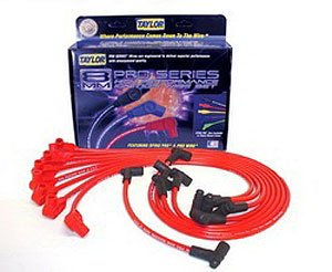 Taylor Cable 74236 Spiro-Pro Red Spark Plug Wire Set (97 Tahoe Spark Plug Wires compare prices)