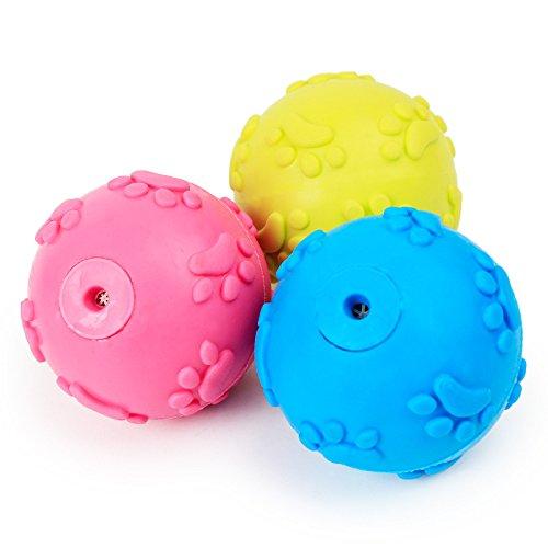1 Pc Ball Pet Dog Toy TPR Chew Toys Non-toxic Pet Bone Game
