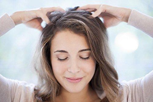 Brahmi Hair Oil (8 oz) by Vadik Herbs | All natural herbal hair oil for hair growth, hair conditioning, dandruff and dry scalp | Herbal scalp treatment by Vadik Herbs (Image #3)