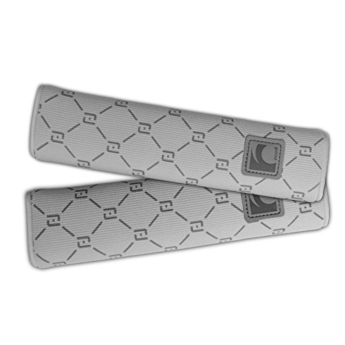 Belt Covers Car Seat (Auto Car Seat Belt Cover Plush Seat Shoulder Pad Cushion 2 Pcs One Pair (Grey)))