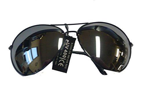 AVIXL/31 (Black) Oversized Mirror - Police Eyewear