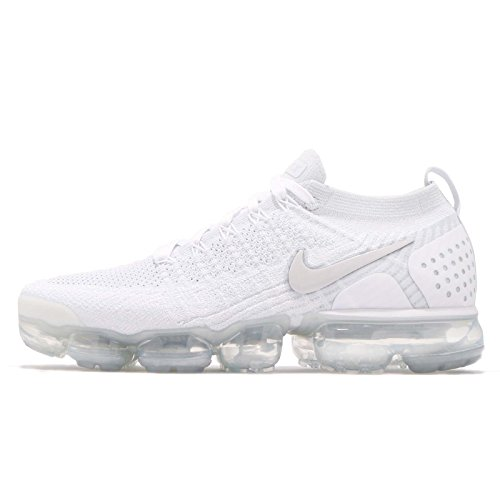 2 White Vapormax White Vast Grey Multicolore Scarpe Ginnastica Uomo NIKE 001 Basse Flyknit Air Football da Grey wBqnvt1