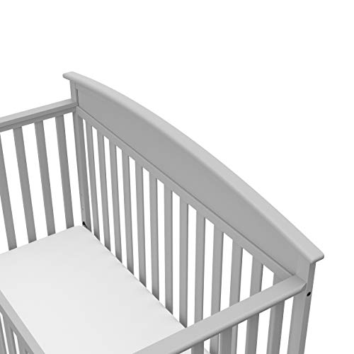 417 52kbFRL - Graco Benton 4-in-1 Convertible Crib, Pebble Gray, Solid Pine And Wood Product Construction, Converts To Toddler Bed Or Day Bed (Mattress Not Included)