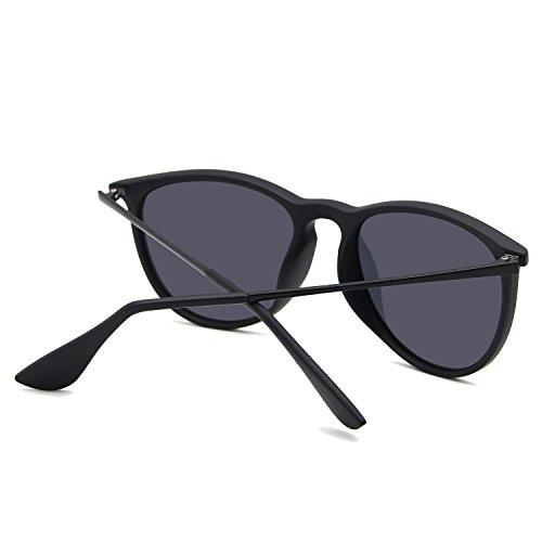 Gafas Negro AMZTM para helado sol mujer de zFxqwZA