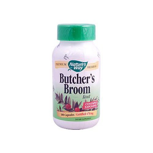 - Nature's Way Butchers Broom Root - 100 Capsules by Nature's Way
