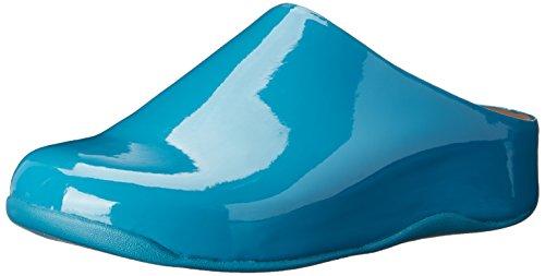 Mule Brevet Pagode De Bleu Chauusures