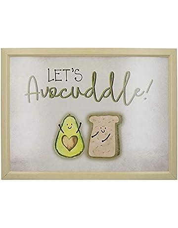 8ea051d798d7 Creative Tops OTT Bean Bag Lap Tray with Cushion, 'Let's Avocuddle', Green