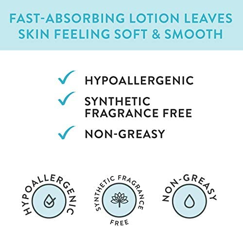 417 5dwUbaL. AC - The Honest Company Purely Sensitive Face + Body Lotion | Dermatologist Tested | Fragrance Free | Body Lotion For Sensitive Skin | Baby Lotion | Calendula & Aloe | 8.5 Fl Oz