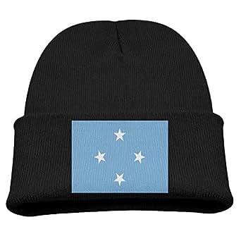 Amazon.com: Jay94 Flag of Micronesia Kid's Hats Winter
