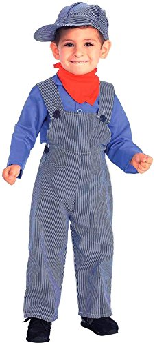 [Forum Novelties Lil Engineer Train Conductor Child Costume, Toddler] (Womens Tank Dress Wonder Woman Costumes)