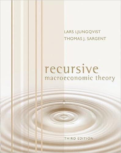 Ljungqvist Sargent Recursive Macroeconomic Theory Pdf