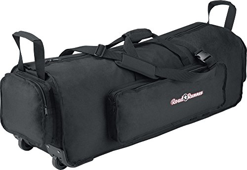 Road Runner Rolling Hardware Bag 38 inches Black (Bag Hardware Roadrunner)