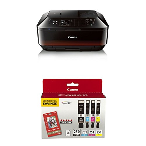 Canon Office and Business MX922 All-in-one Printer with PG-250/CLI-251 Combo Pack by Canon