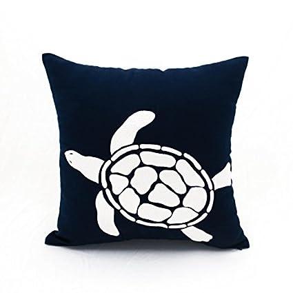 Fantastic Amazon Com Kainkain Sea Turtle Decorative Pillow Cover Andrewgaddart Wooden Chair Designs For Living Room Andrewgaddartcom