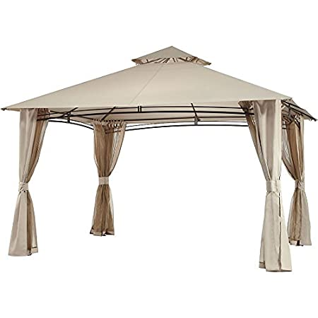Garden Winds Replacement Canopy for The Waterford Gazebo LCM859B
