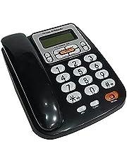 هاتف سلكى للخط الارضى فيكتوريا المهندس اسود