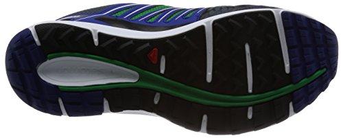 Salomon X-Scream - Zapatillas trail running para hombre - gris/azul 2014 Gris/Azul