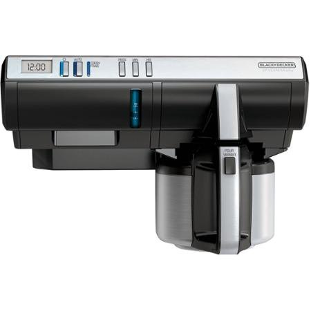 Black & Decker Spacemaker Coffee Maker, Thermal Carafe - Spacemaker Digital Thermal Coffee Maker