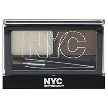 3 Pack NYC Browser Brush On Brow Kit – Brunette