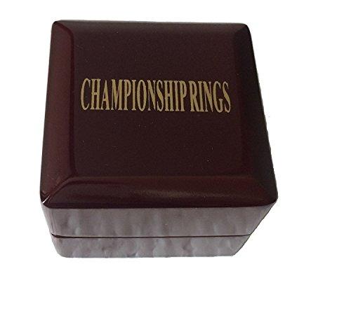 TIKIYOGI Display Wooden Ring Box One Piece Championship Sports Big Heavy Ring (Replica One Piece)
