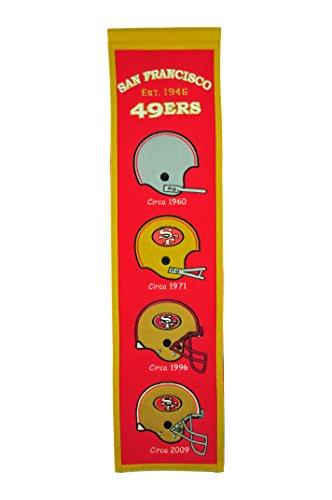 (NFL San Francisco 49ers Heritage Banner)
