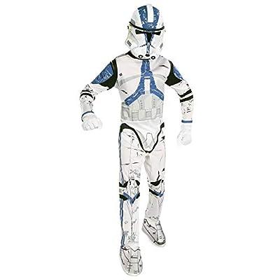 Star Wars Child's Clone Trooper Costume, Medium: Toys & Games