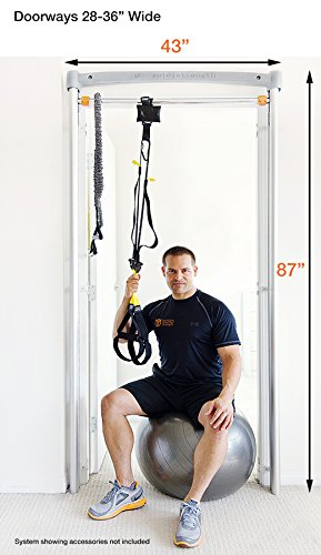 SoloStrength Ultimate (Doorway Model): Total Body Home Gym Personal Training System (Bundle1)
