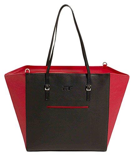 Red Spalla Borsa Black A Folie Carré Madame Donna wR6nxq70vF