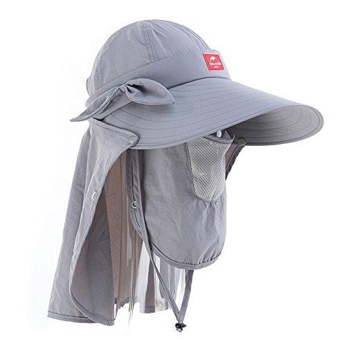椅子調子恐れるNatureHikeアウトドアキャンピングハット登山帽子釣りスポーツUVカットハット