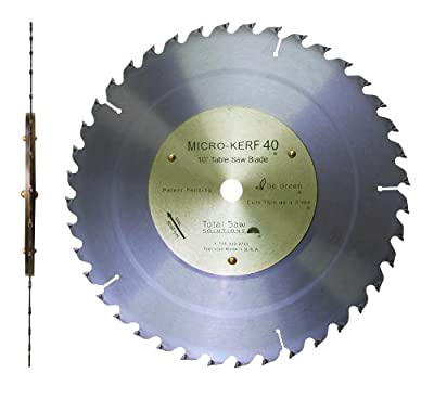 "10"" Micro-Kerf40 1/16""Kerf Table Saw & Mitre Saw Blade with 5/8"" Arbor"