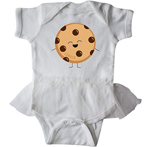 inktastic - Cookie Costume Infant Tutu Bodysuit 6 Months White 31d11