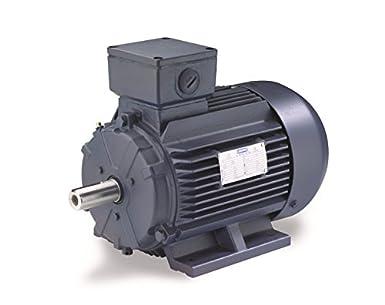 100L Frame Leeson 193379.60 Rigid Base IEC Metric Motor 3HP 575V Voltage 60Hz Fequency C100T17FZ47A 3 Phase Rigid Mounting 1800 RPM