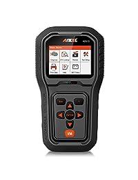 Ancel ad210 OBD II coche lector de código Automoción Vehículo OBD2 escáner herramienta de análisis de diagnóstico, Negro