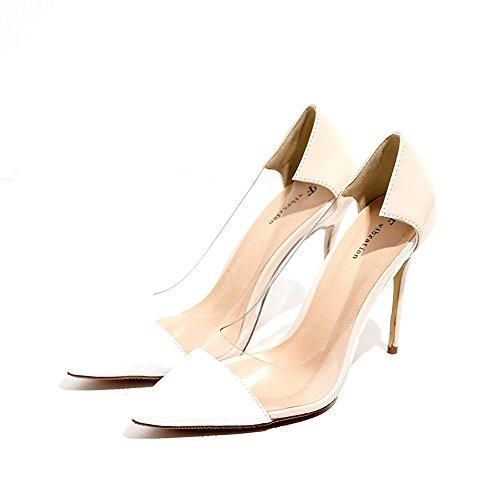 mujer Alta color sandalias blanco en sandalias talón para de Flop sandalias mujer el Casual planas zapatos Verano bajo raw playa Flip BAJIAN Boho sandalias heelsWomen LI 1SxwP4w6q5
