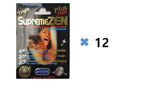 Supreme Zen Plus 3500mg Male Sexual Performance Enhancement 100% Authentic (12)