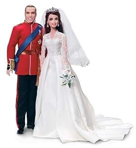 Mattel W3420 - Barbie y Ken duque de Cambridge Guillermo y Catalina (edición coleccionista)