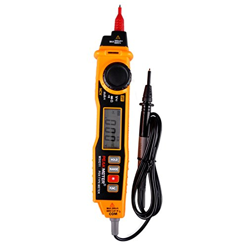 PEAKMETER MS8211 Pen Type Digital Multimeter with NCV AC / DC Current Voltage Resistance Diode Connectivity Multitester