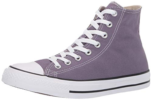 Converse Women's Unisex Chuck Taylor All Star Seasonal 2019 High Top Sneaker, Moody Purple 6.5 M US