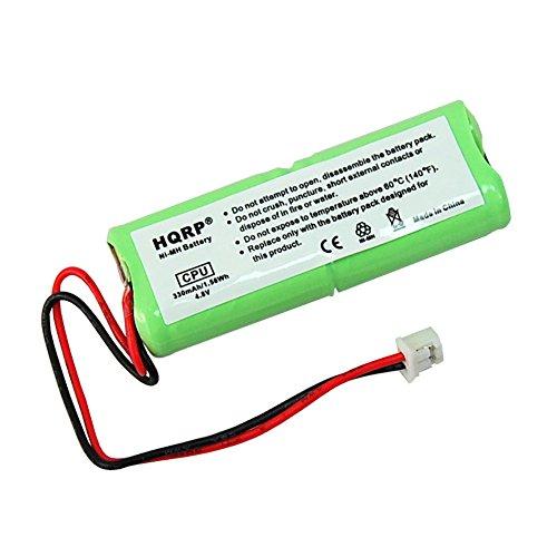 HQRP Battery for Dt-Systems EZT SERIES EZT-1000, EZT-1002, EZT-1003, EZT-2000, EZT-2002, EZT-2003, EZT-3000, EZT-3002, EZT-5000, EZT-5002 Remote Controlled Dog Training Collar Receiver + Coaster (Series 3000 Telephone)