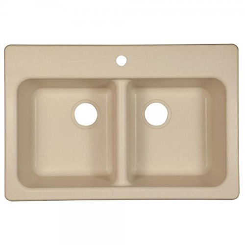 Granite Kitchen Sink Champagne - Franke FPC3322-1 Kitchen Sink, 33