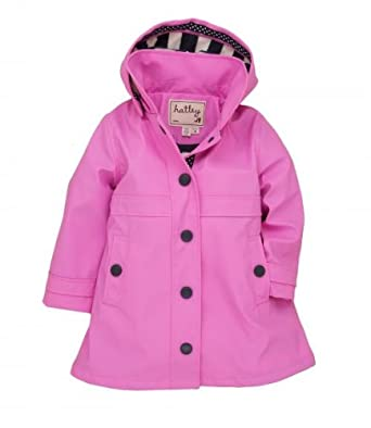 Hatley Girls Rain Mac, Jackets, Girls, 8 years: Amazon.co.uk: Clothing