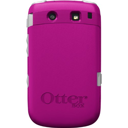 OtterBox Commuter Series Case for BlackBerry Torch 9800 - Hot Pink / White