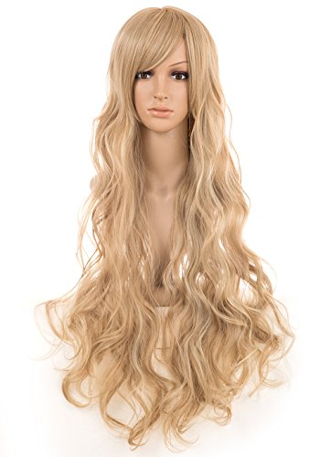 Extra Long Curly Wig - 3