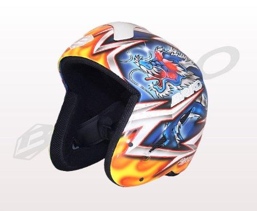 BRIKO(ブリコ)ペイントヘルメット メンズ レディース 013140P RYU(龍) 60   B004W1IZVY
